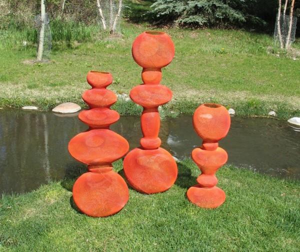 Eric Boyer sculptures