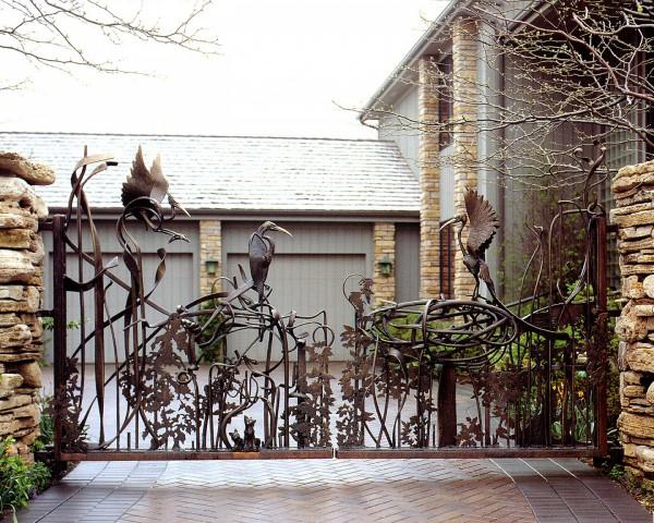 Gate by Bruce Paul Fink