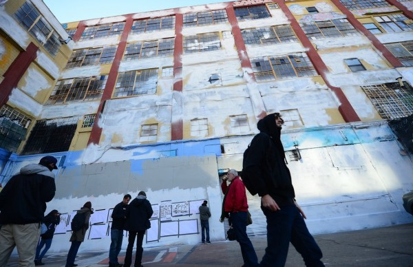 5Pointz, an iconic wall of graffiti in New York