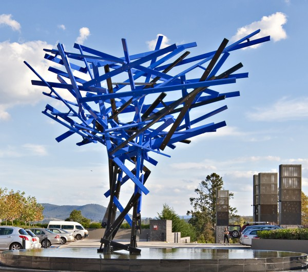 Blue Trees public art