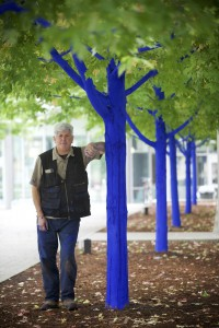 Konstantin Dimopoulos with Blue Trees