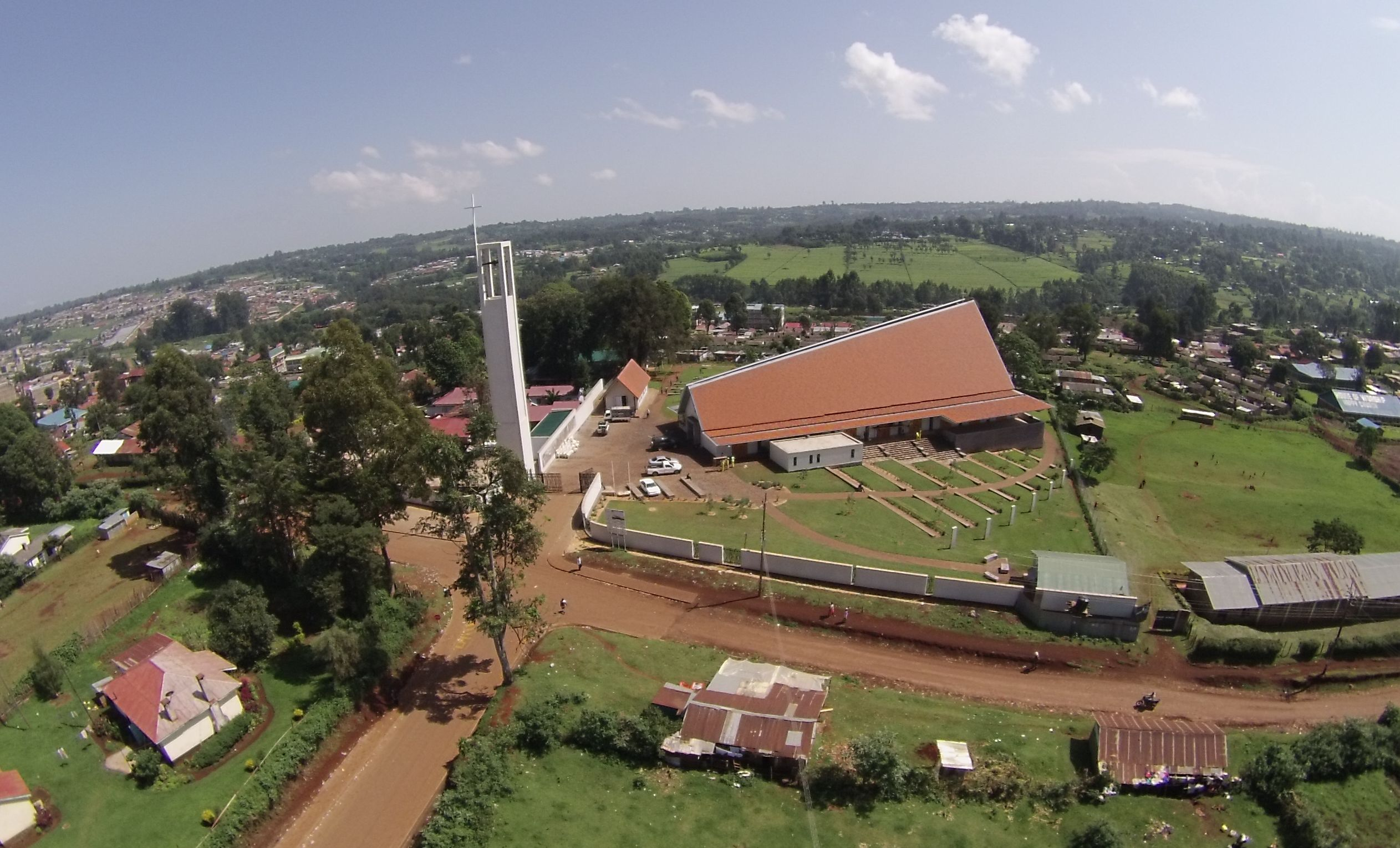 Kericho Cathedral Roof