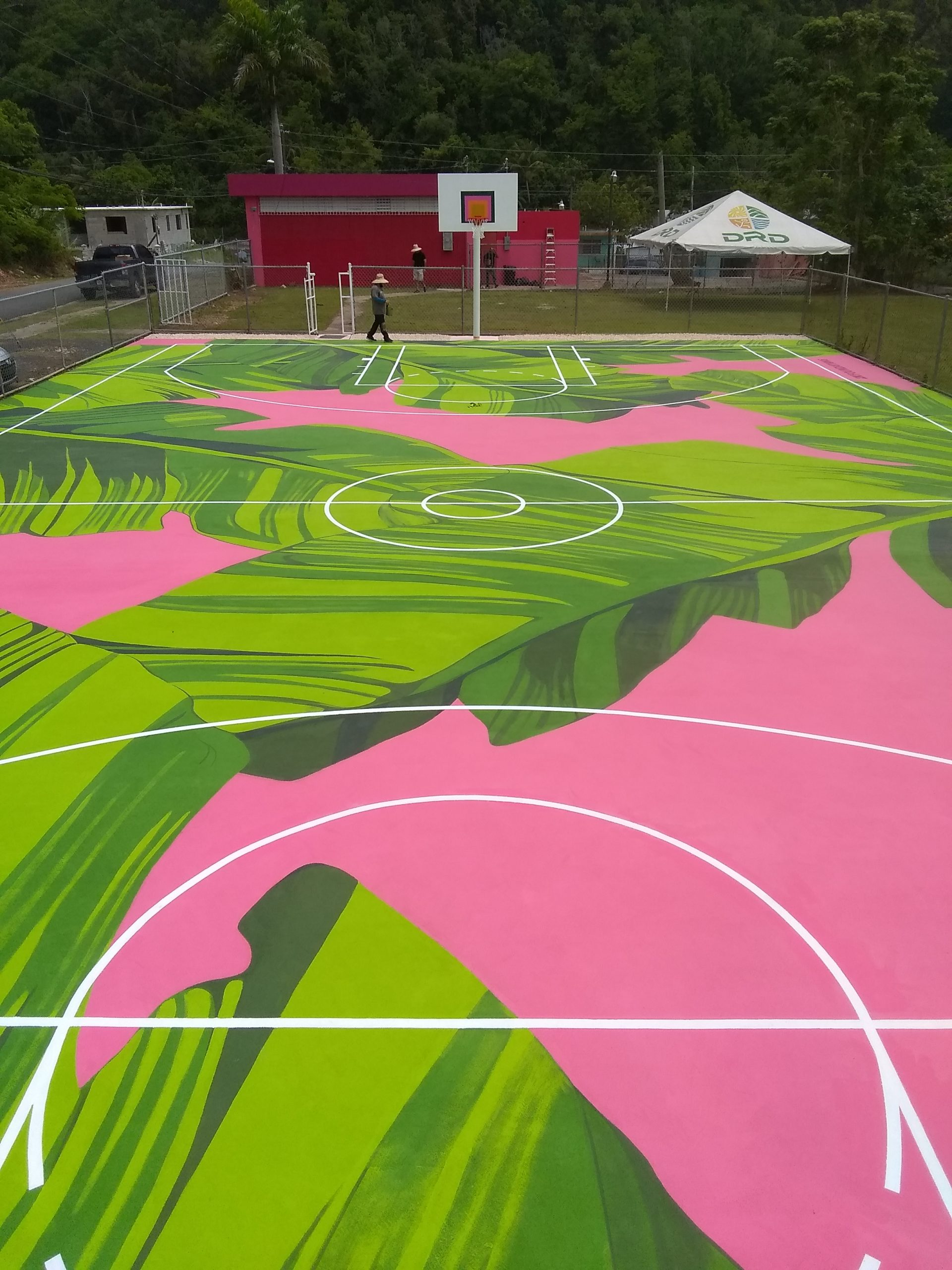 Toa Baja Basketball Court