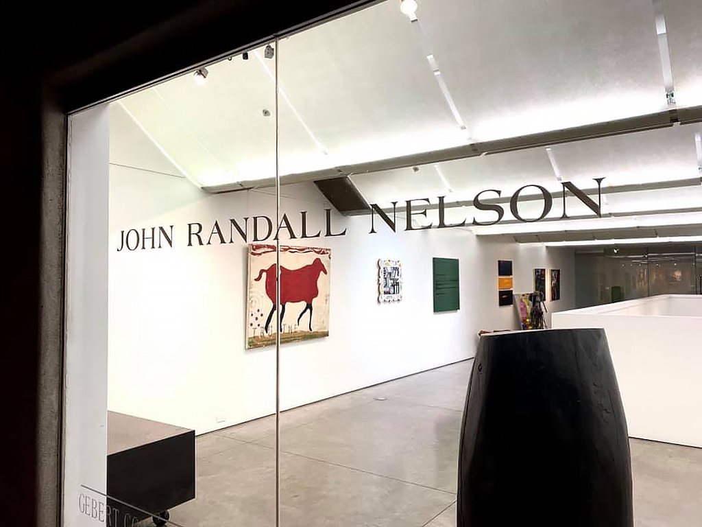 John Randall Nelson Gallery Exhibition, 2020.