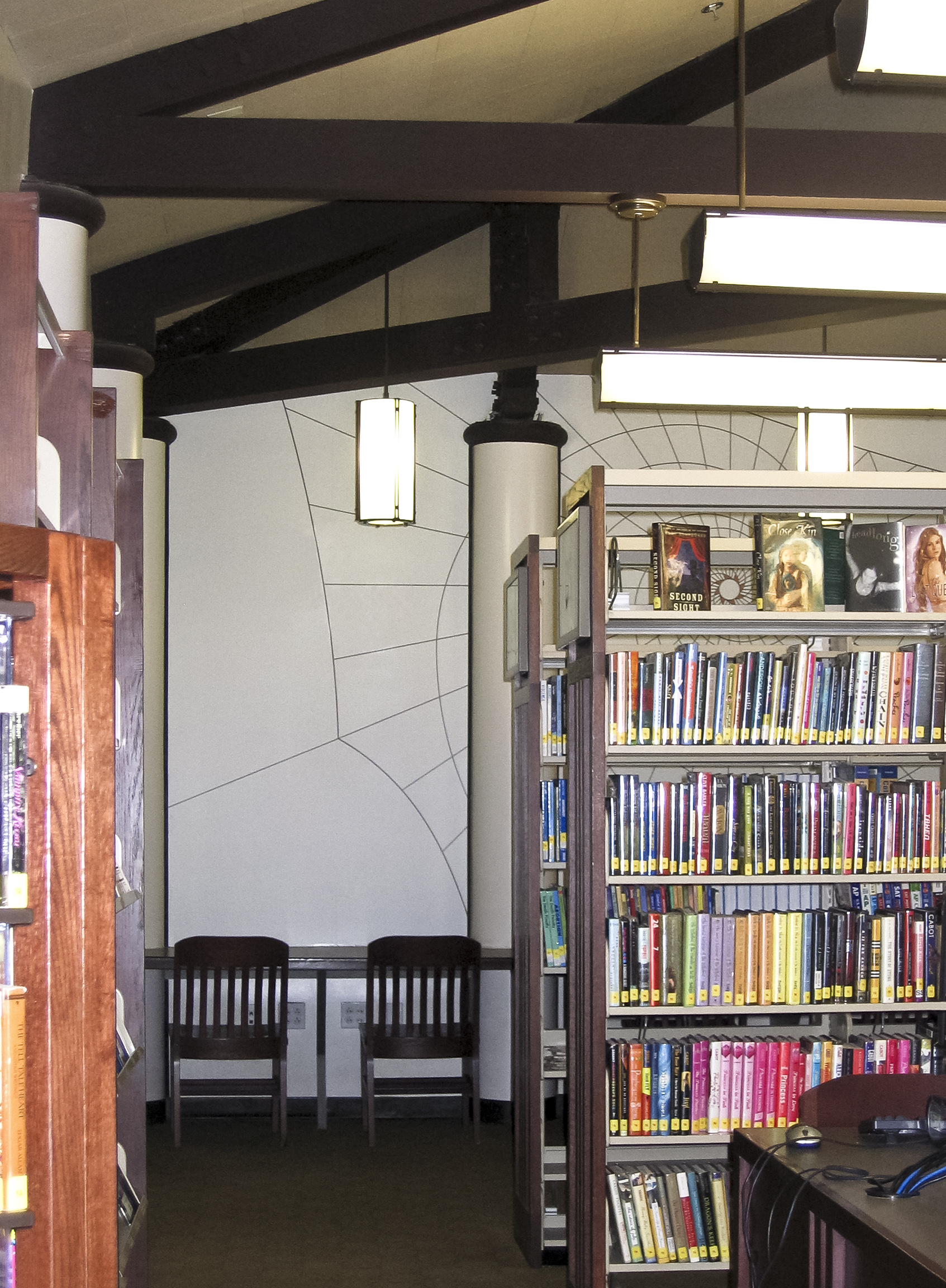 Young Adult Mural / Fairfax Branch Public Library