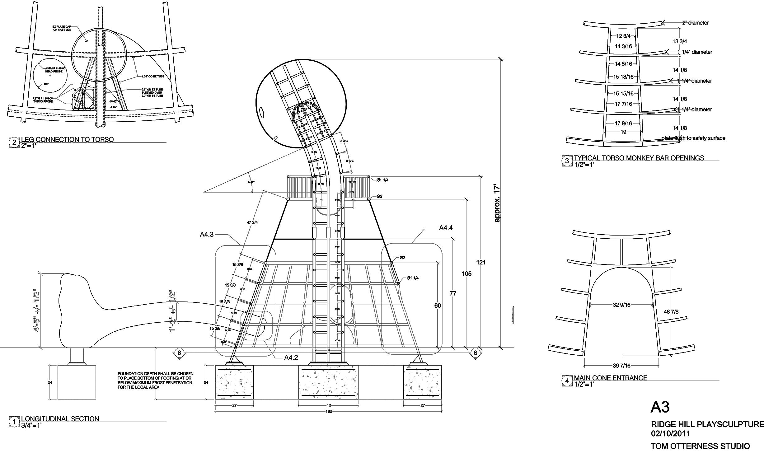 Ridge Hill Playground Structure
