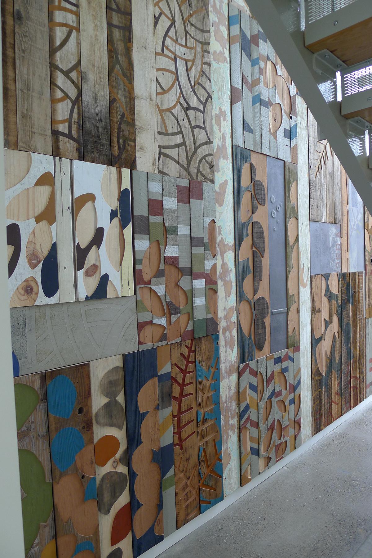 Mural for Bridge Housing