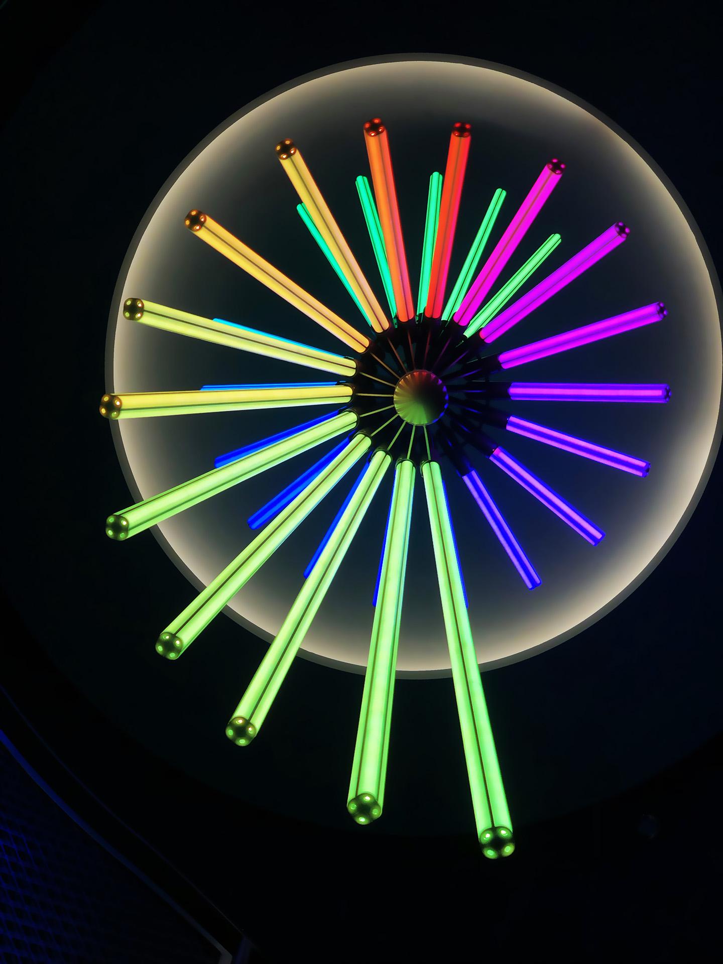 COLORBARZ light sculpture