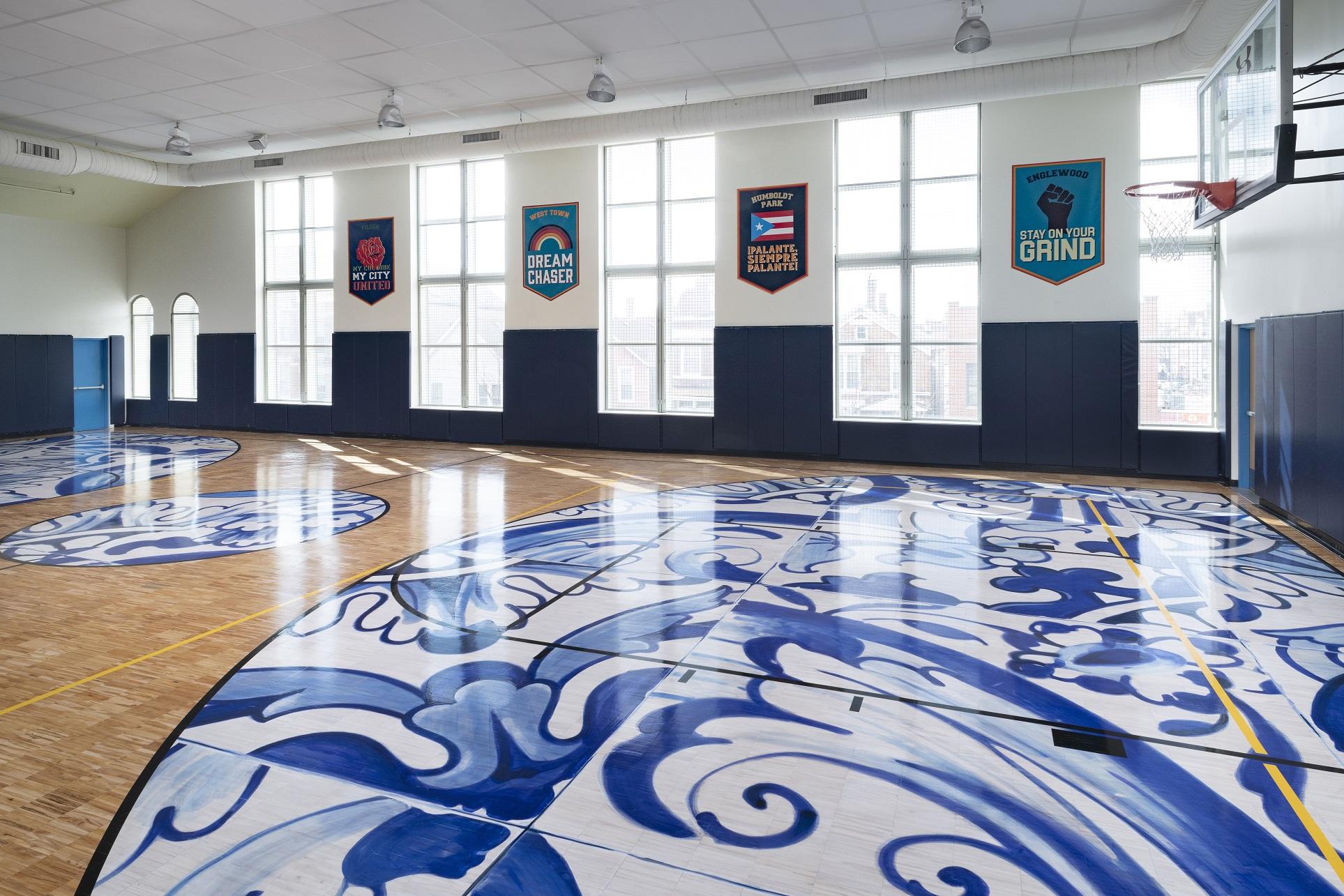 Union League Boys and Girls Club: Club One – Basketball Gym Renovation.
