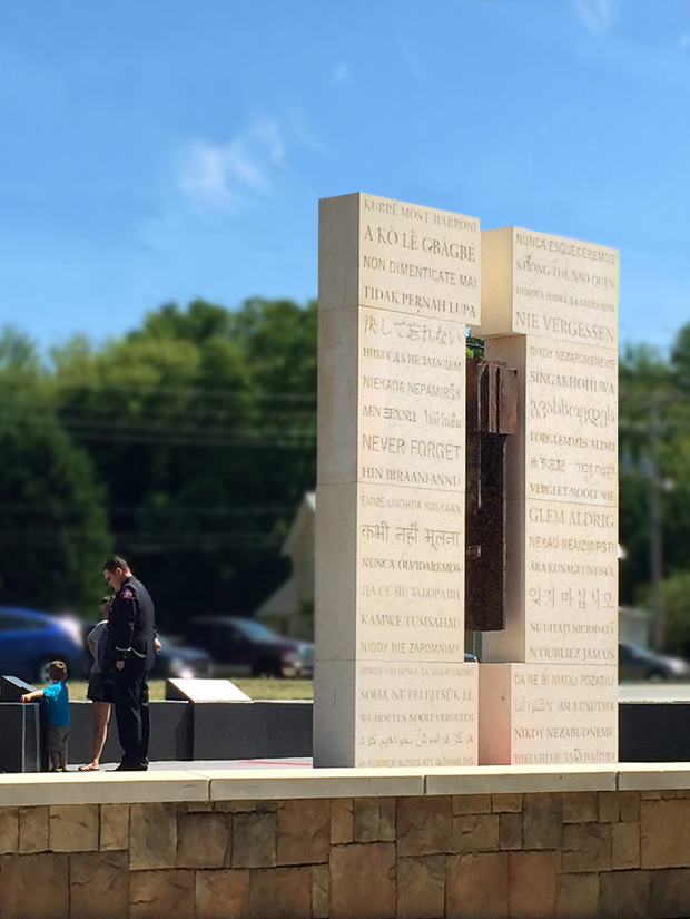 Never Forget, Cornelius 9/11 Monument