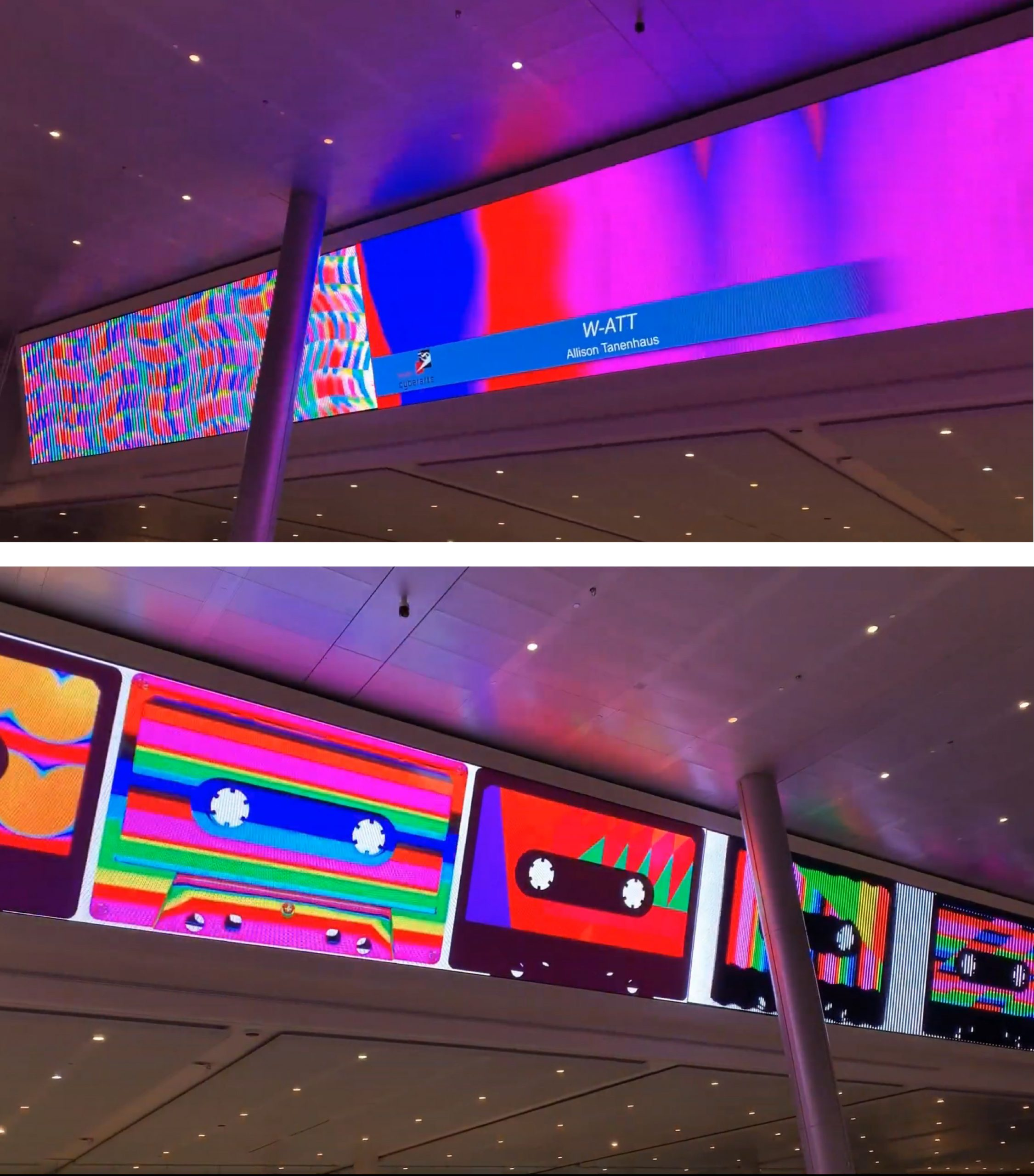 Video Wall: W-ATT