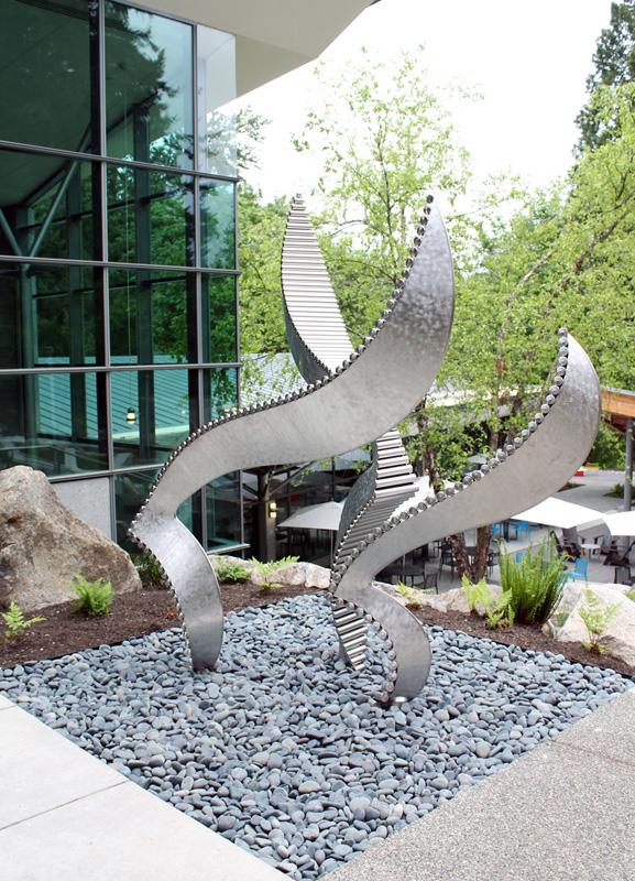 Cutting Edges, Microsoft Campus, Redmond, Washington, USA