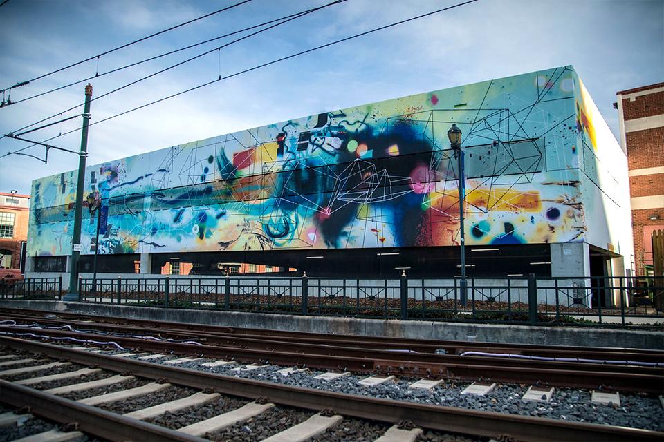 Steelyard Mural