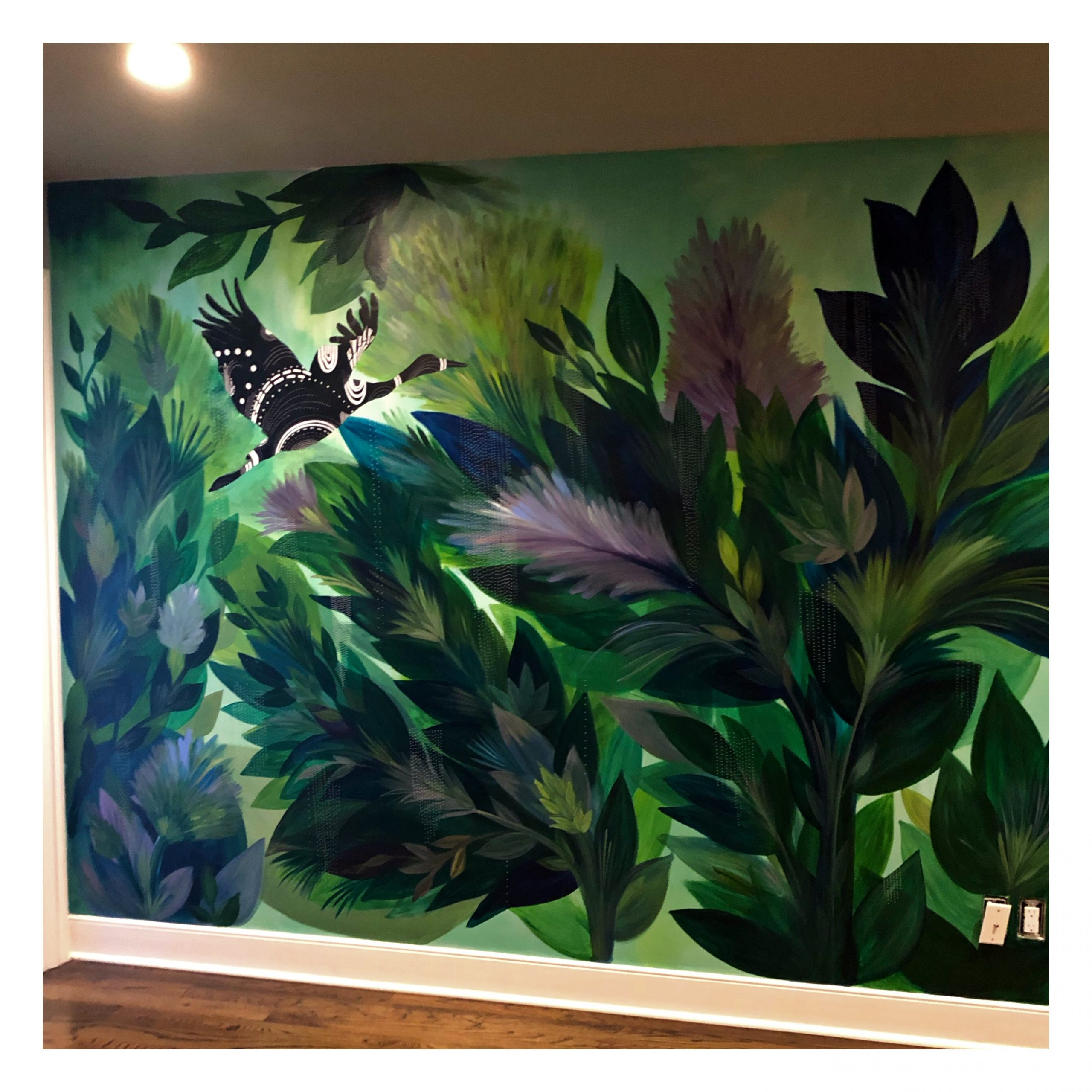 16 FT Wall Mural