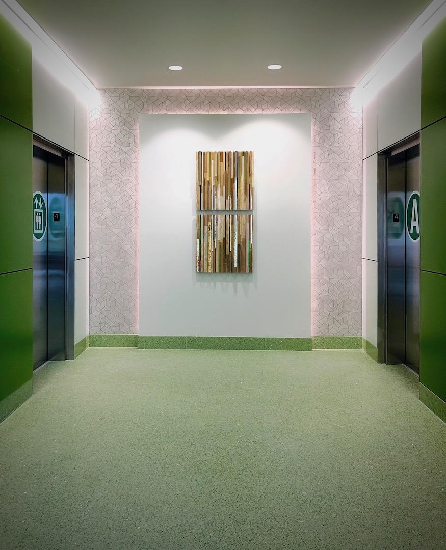 ProMedica Generations Tower – Elevator Bays