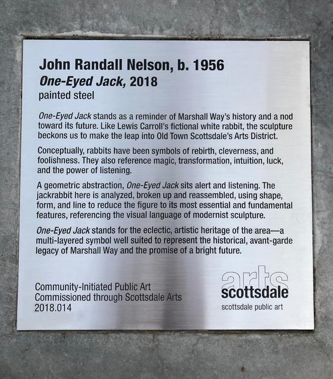 One-Eyed Jack, 2018.