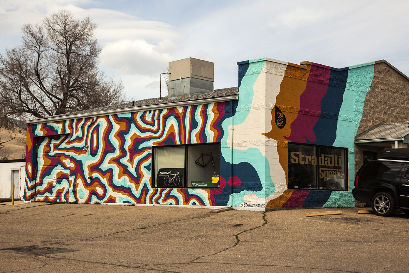 North Boulder Arts District Entrance Mural