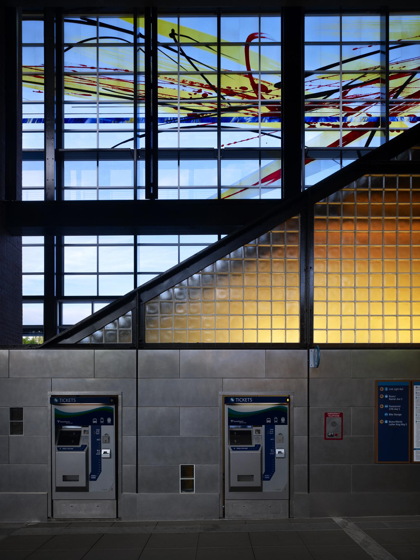 Seattle Sound Transit Mt. Baker Station