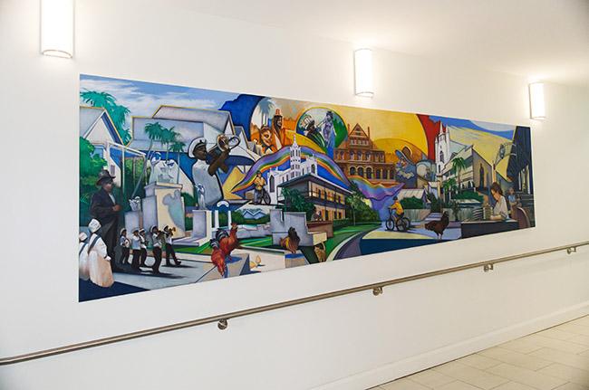 Key West City Hall Murals