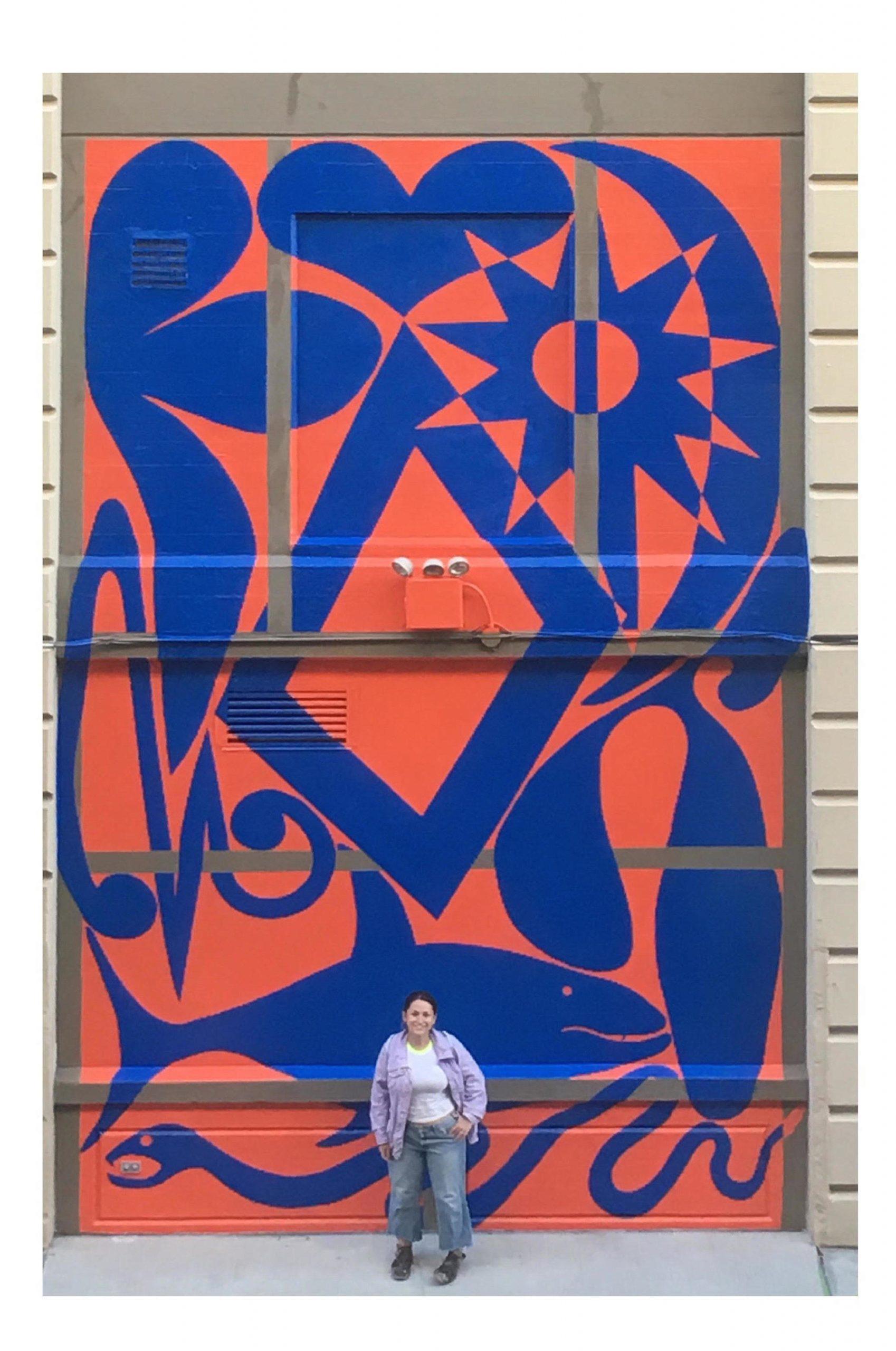 """Evolution"", site-specific murals"