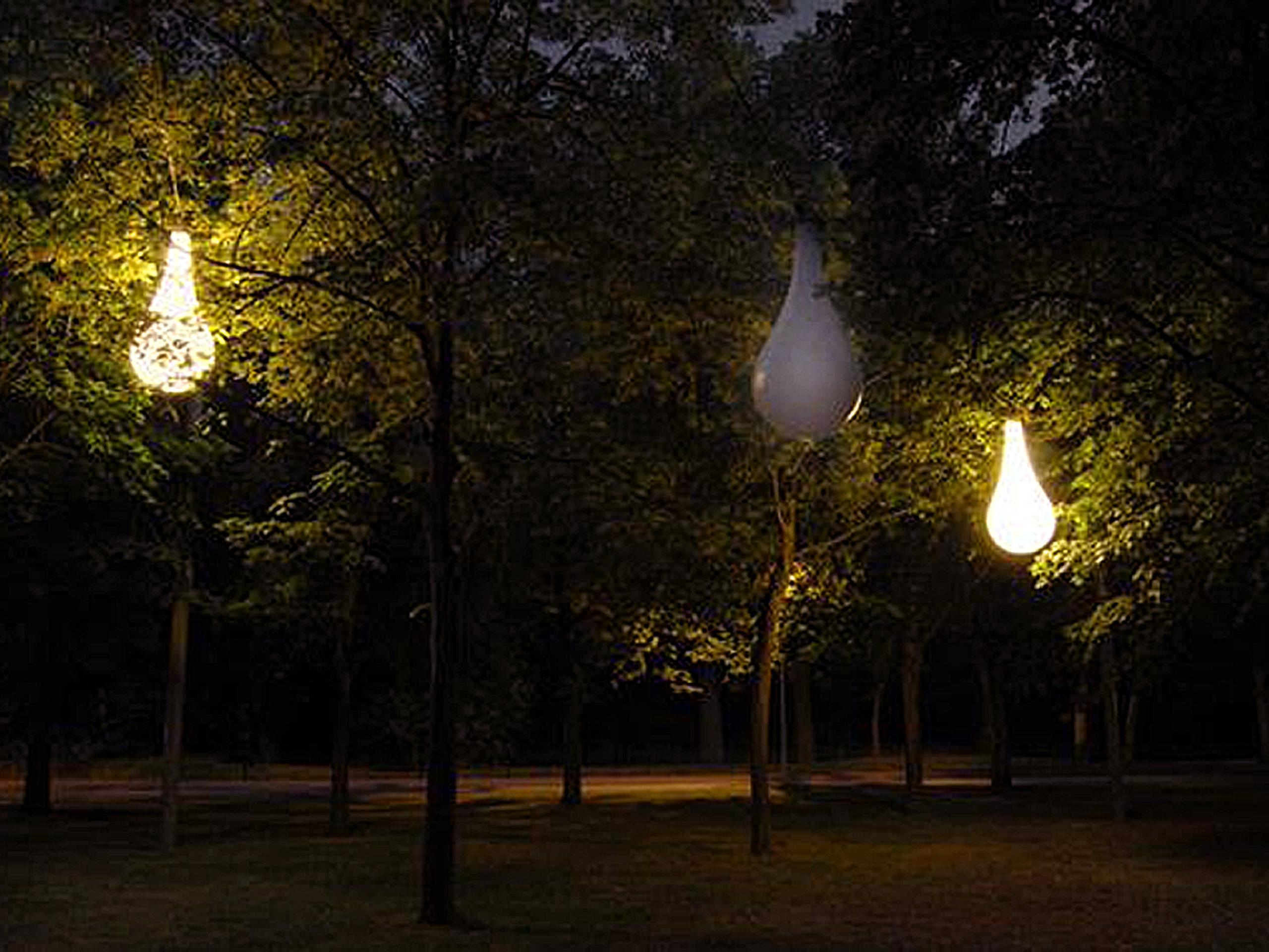 Light sculpture in Zeist, the Netherlands