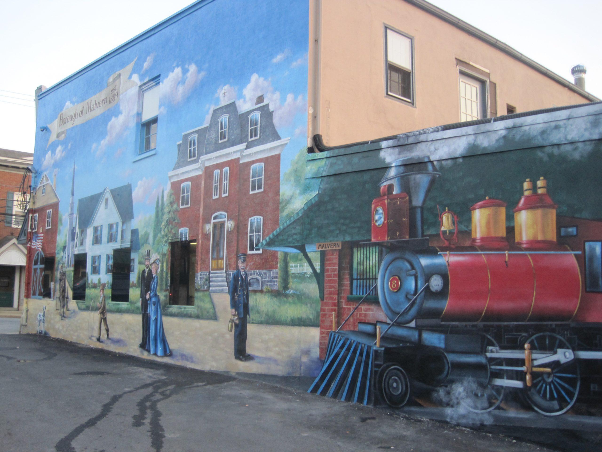 Malvern Historical Mural