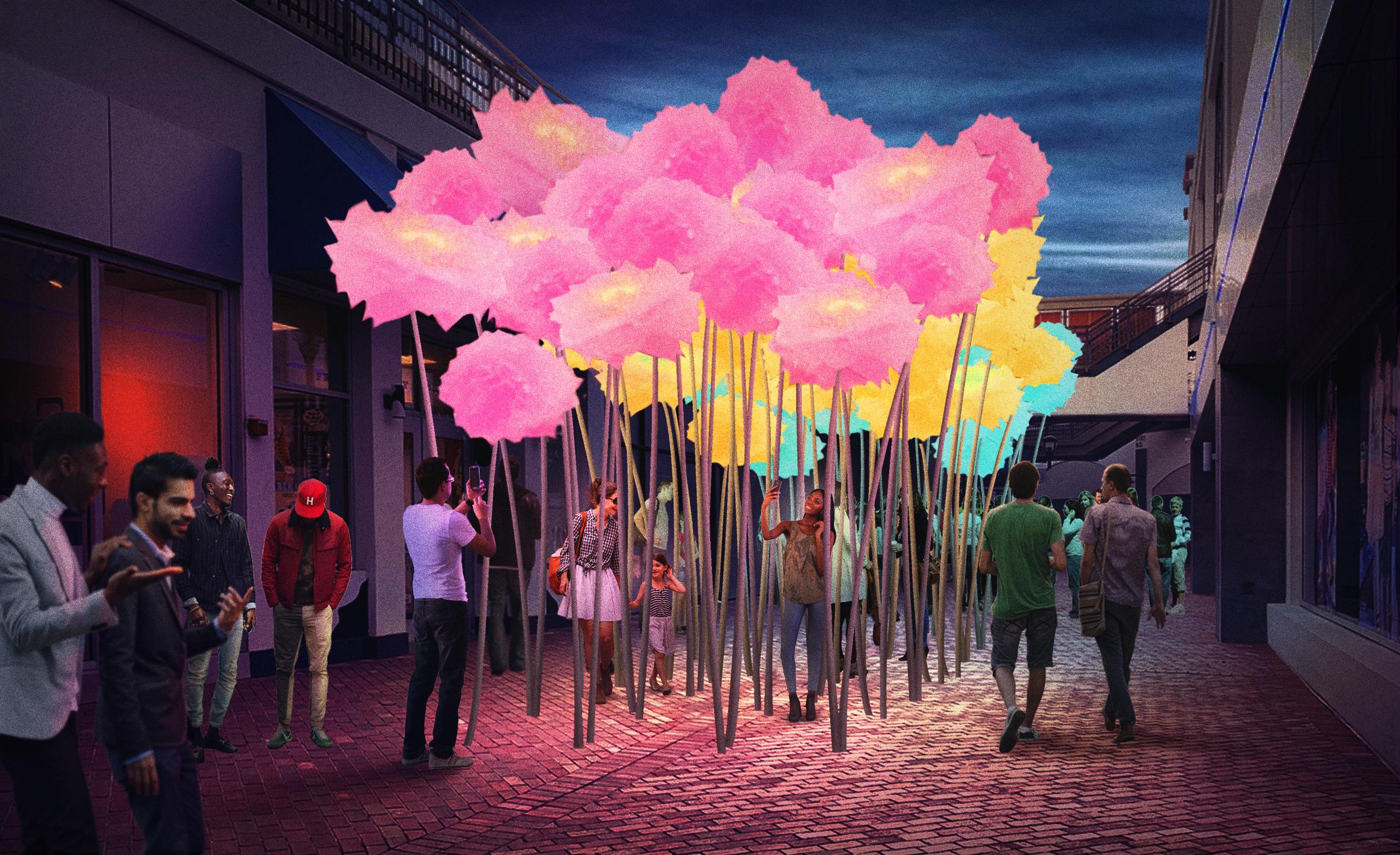 Interactive Sculpture Work