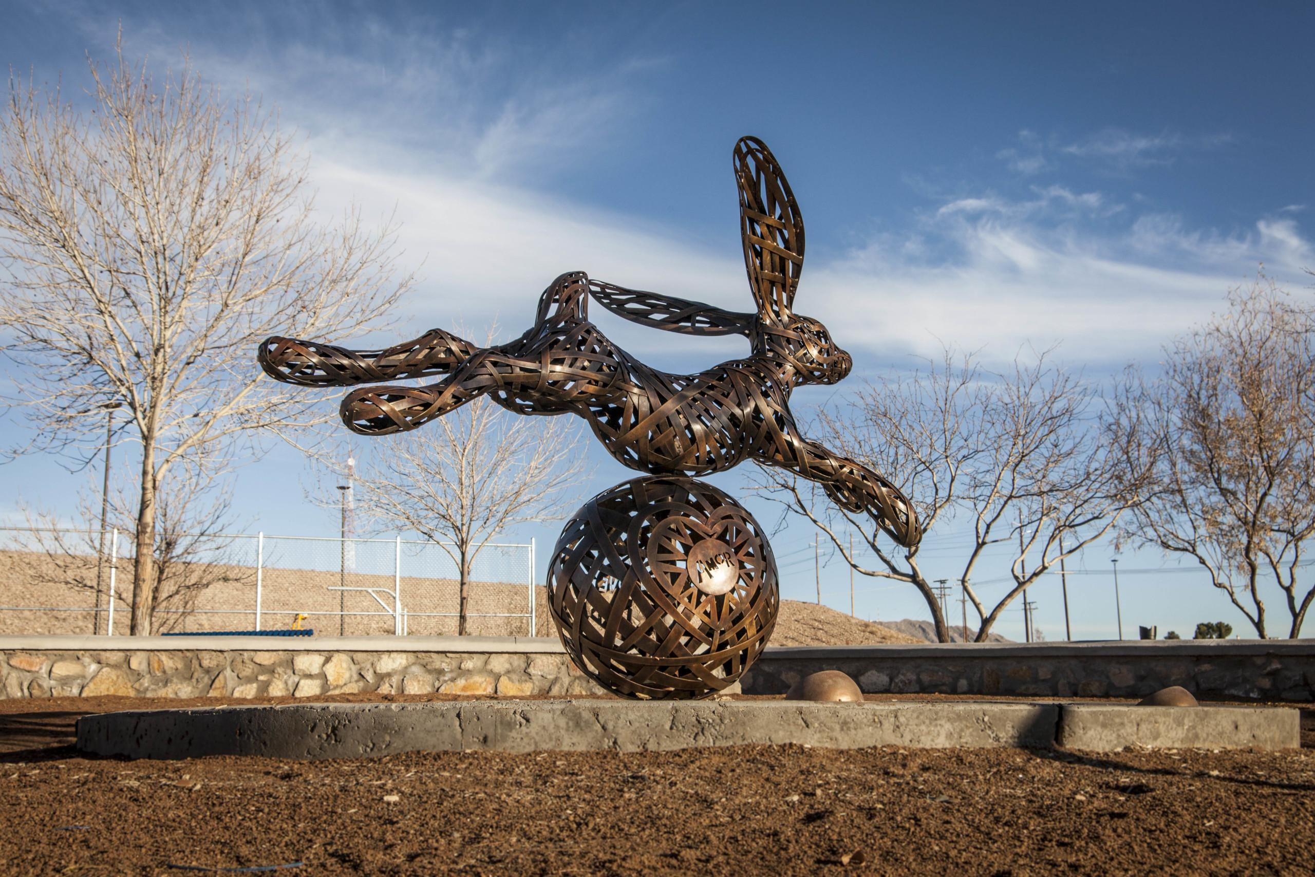 Jack Rabbit Jumps the Love Ball