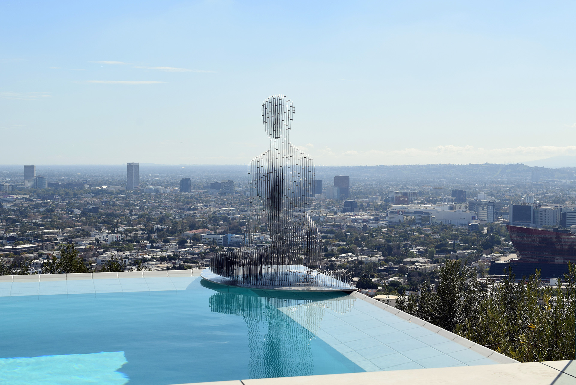 Annabelle over the Hollywood Hills