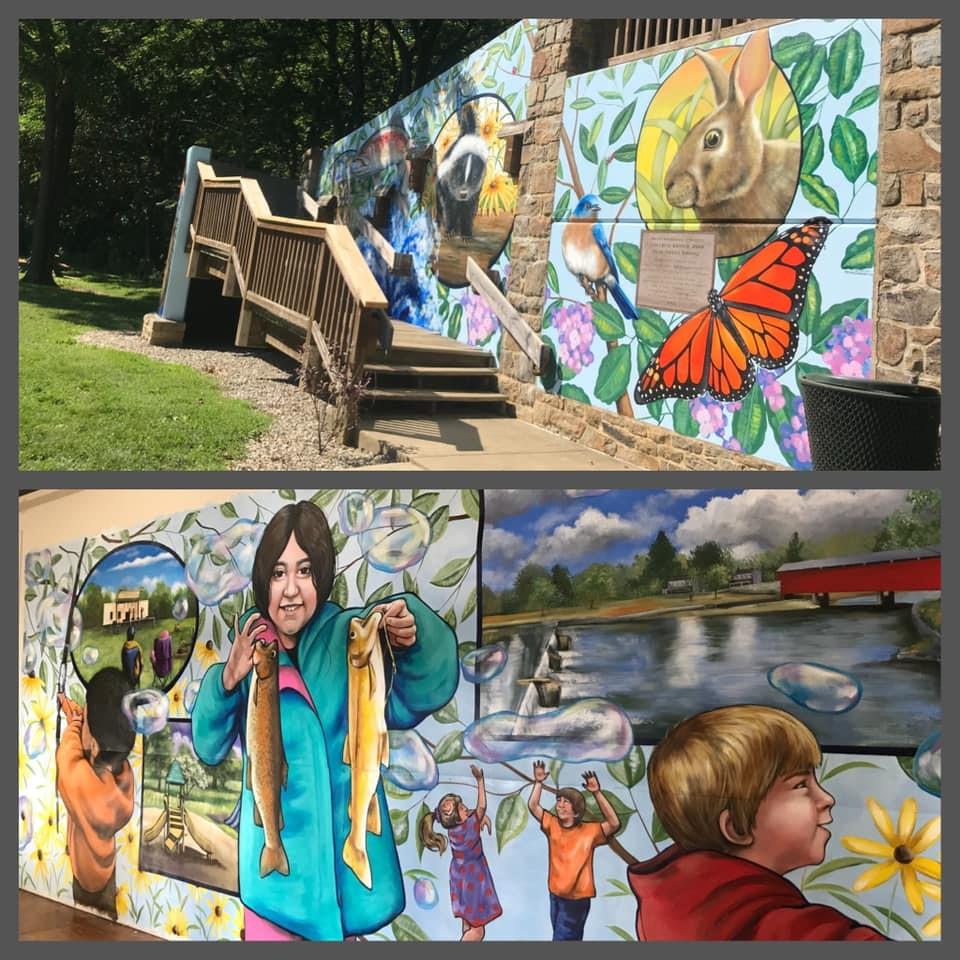 Covered Bridge Park Mural