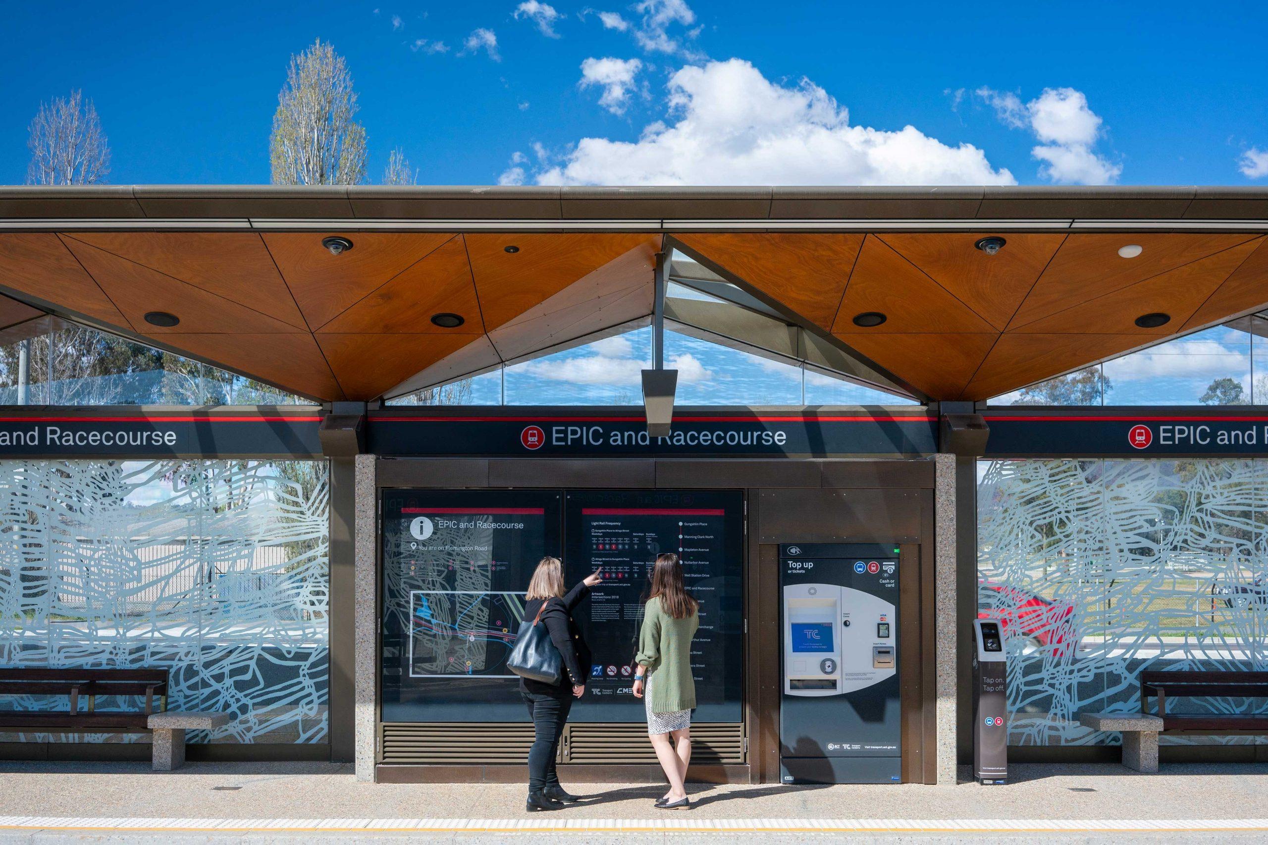Canberra Metro Light Rail - CODAworx