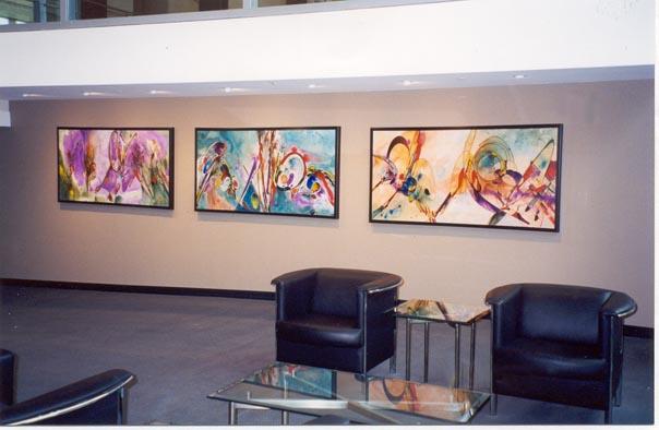 Brooks Fiber Optics- Lobby Artworks