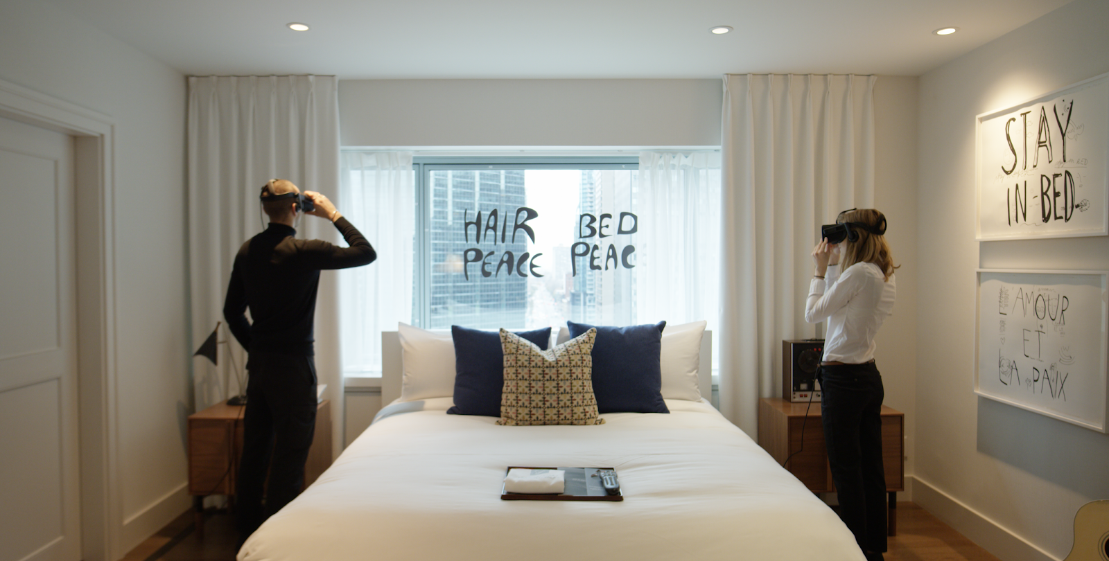 Bed-In for Peace's Suite 1742 - CODAworx