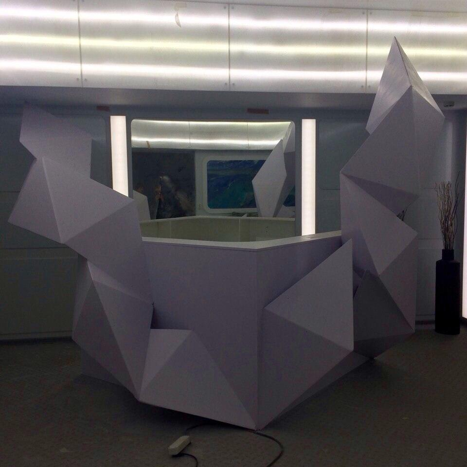 "Reception Desk "" Heart Of The Taiga"""