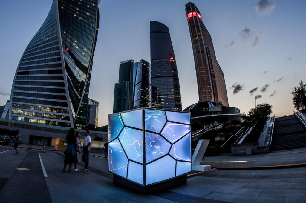 CUBED / UNCUBED light sculpture - CODAworx