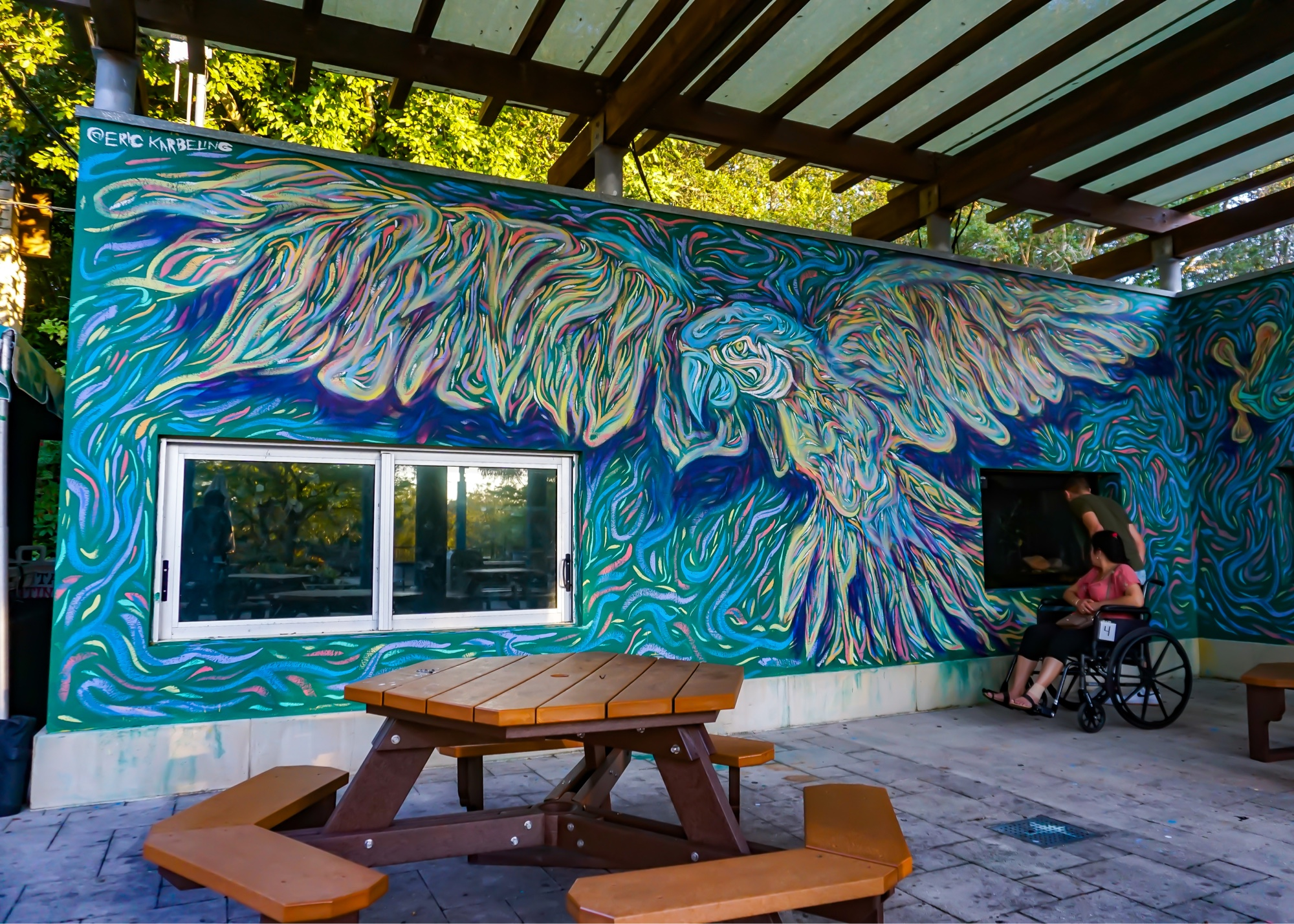 ZooMiami – Amazon & Beyond Immersive Mural Environment