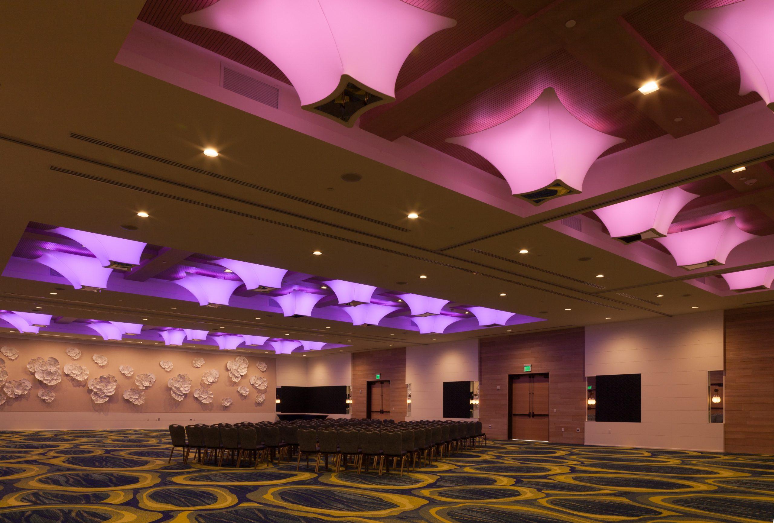 Modern LED Ballroom Chandeliers