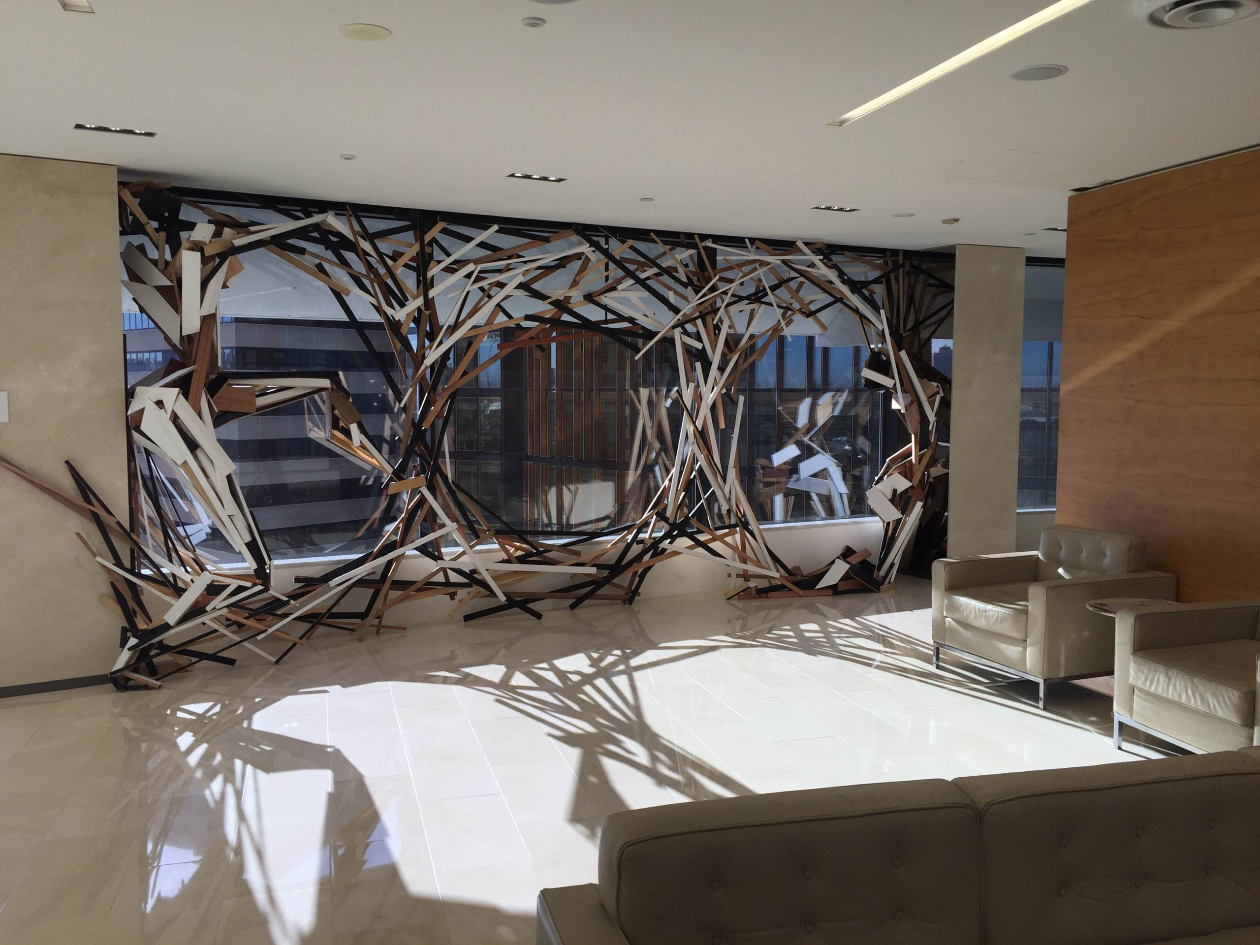 Tangential Reflection, Deloitte Sydney