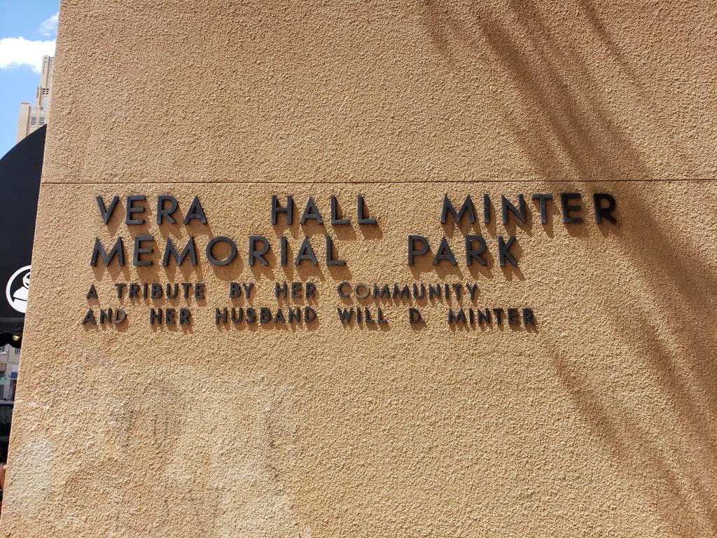 Digital Water Curtain at Minter Park, Abilene, TX