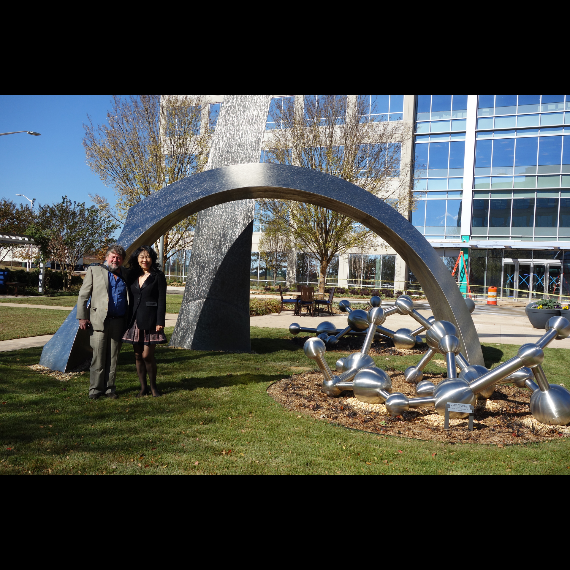 Breaking Earth's Bond, Redstone Gateway Plaza