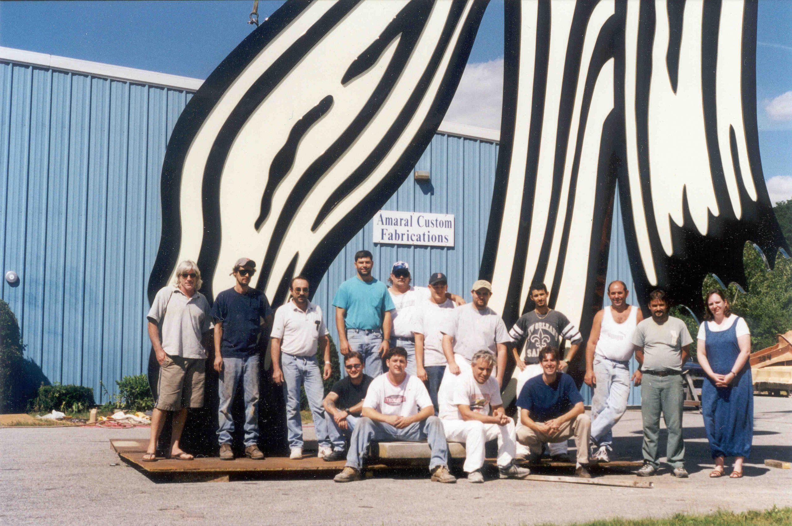 Brushstroke 4475  –  Roy Lichtenstein
