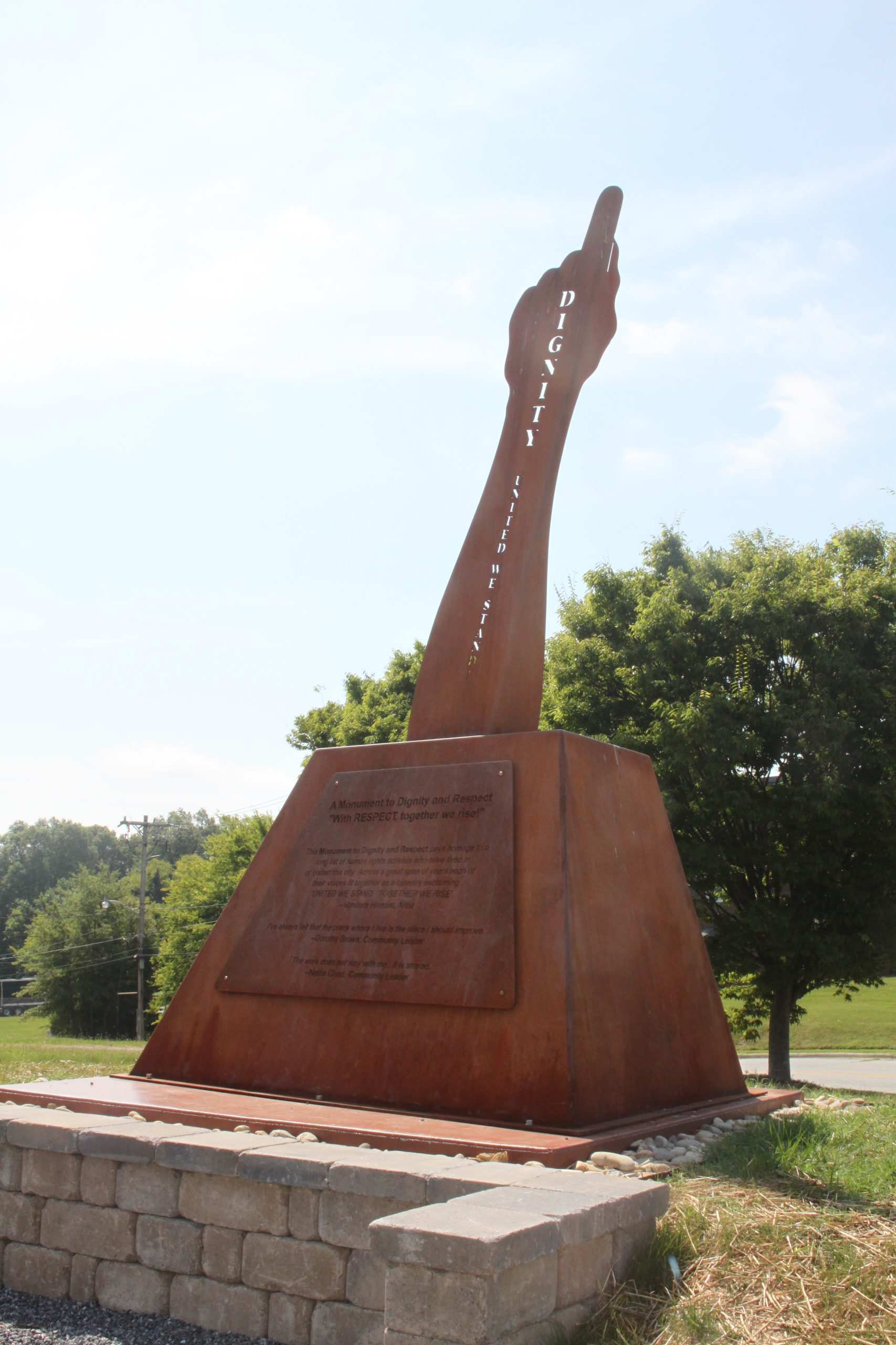 A Monument to Dignity and Respect