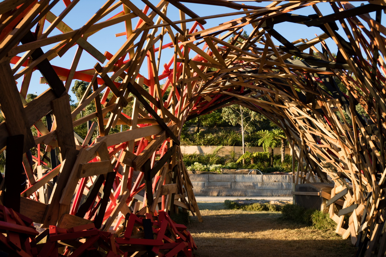Mental Convolution, Sculpture at Barangaroo 2017