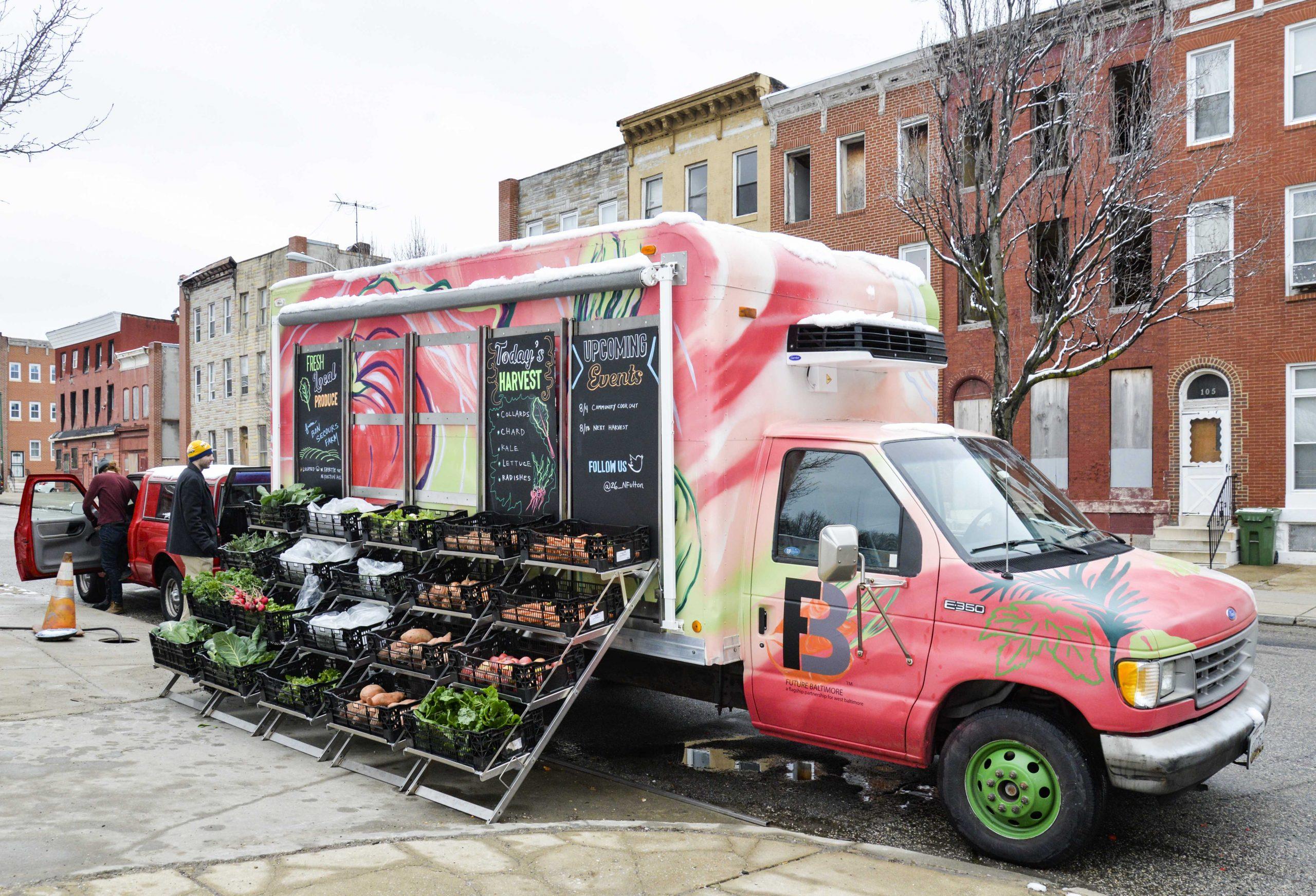 Bon Secours Urban Farm / Food Access