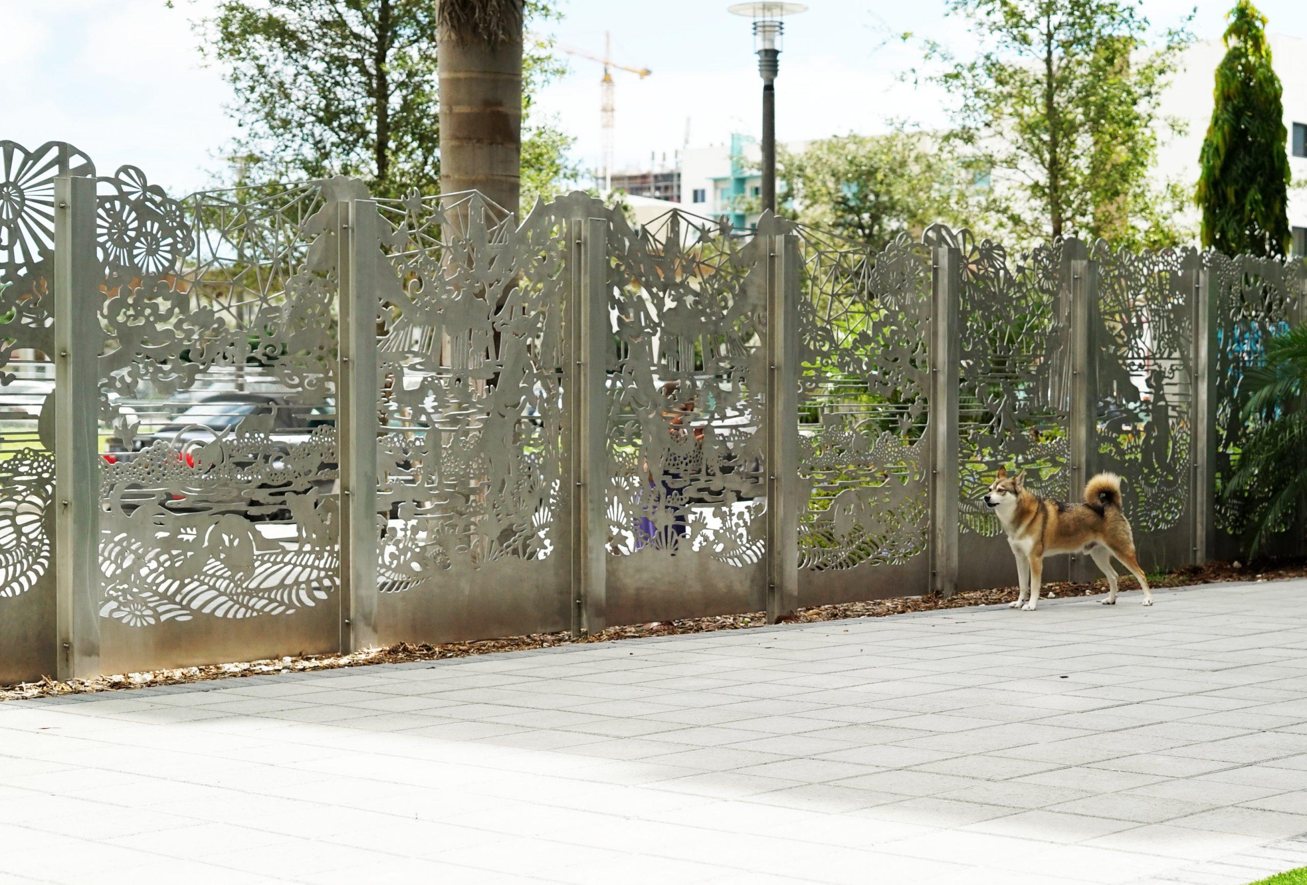 Dog Park Fence