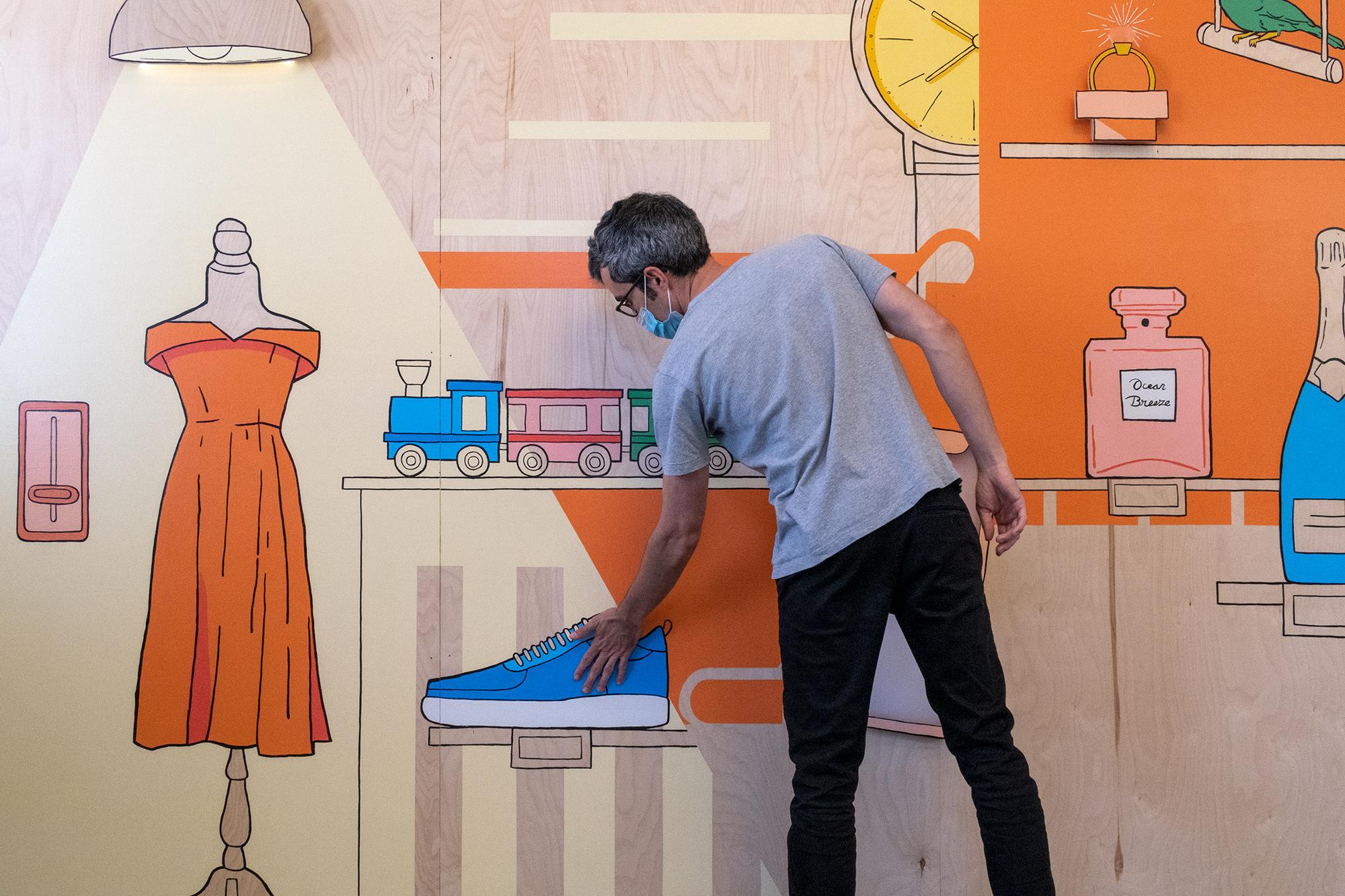 Alibaba Interactive Mural