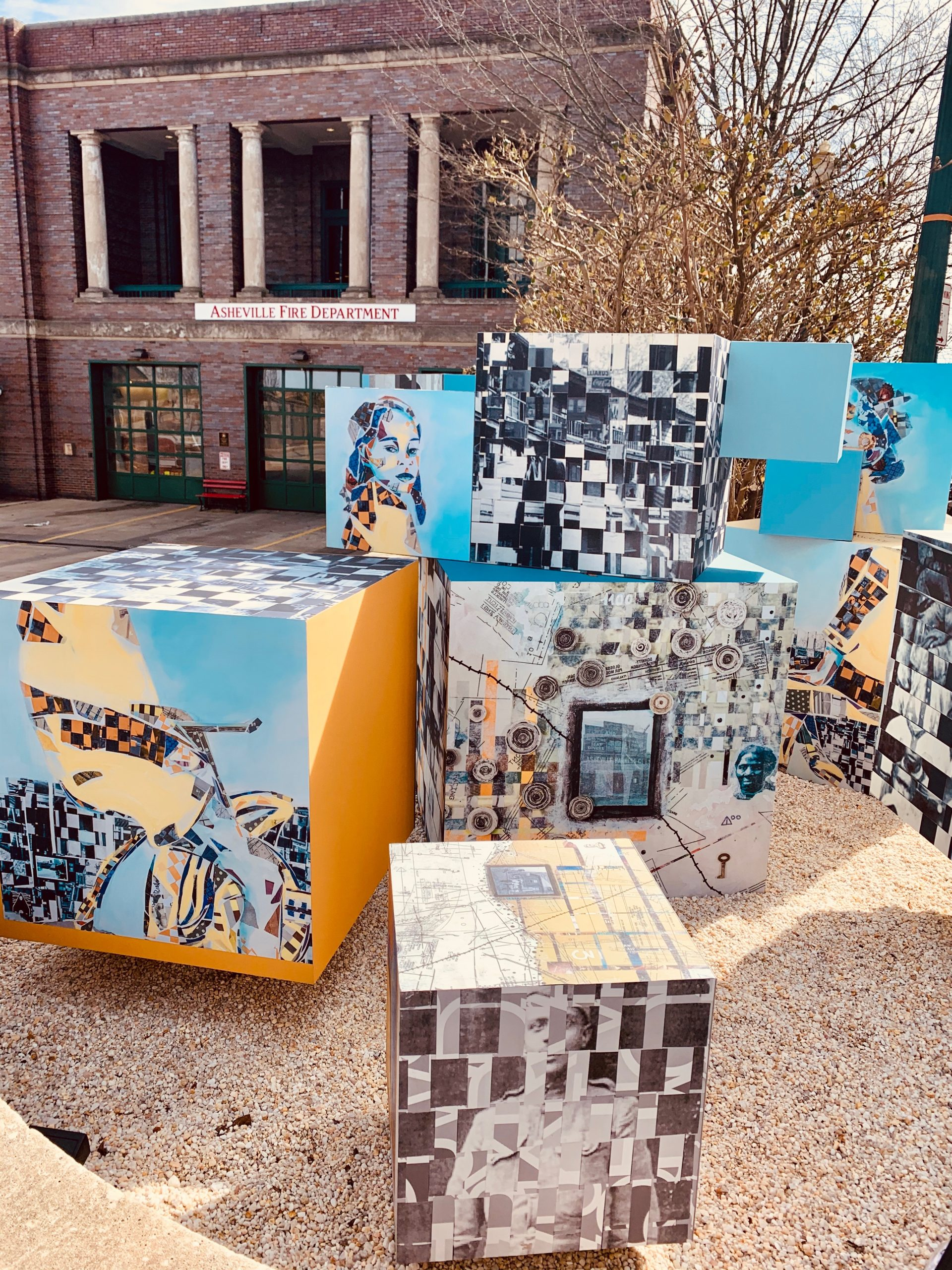 Hope Springs Forth Brightly-Celebrating African Americans Through Public Art