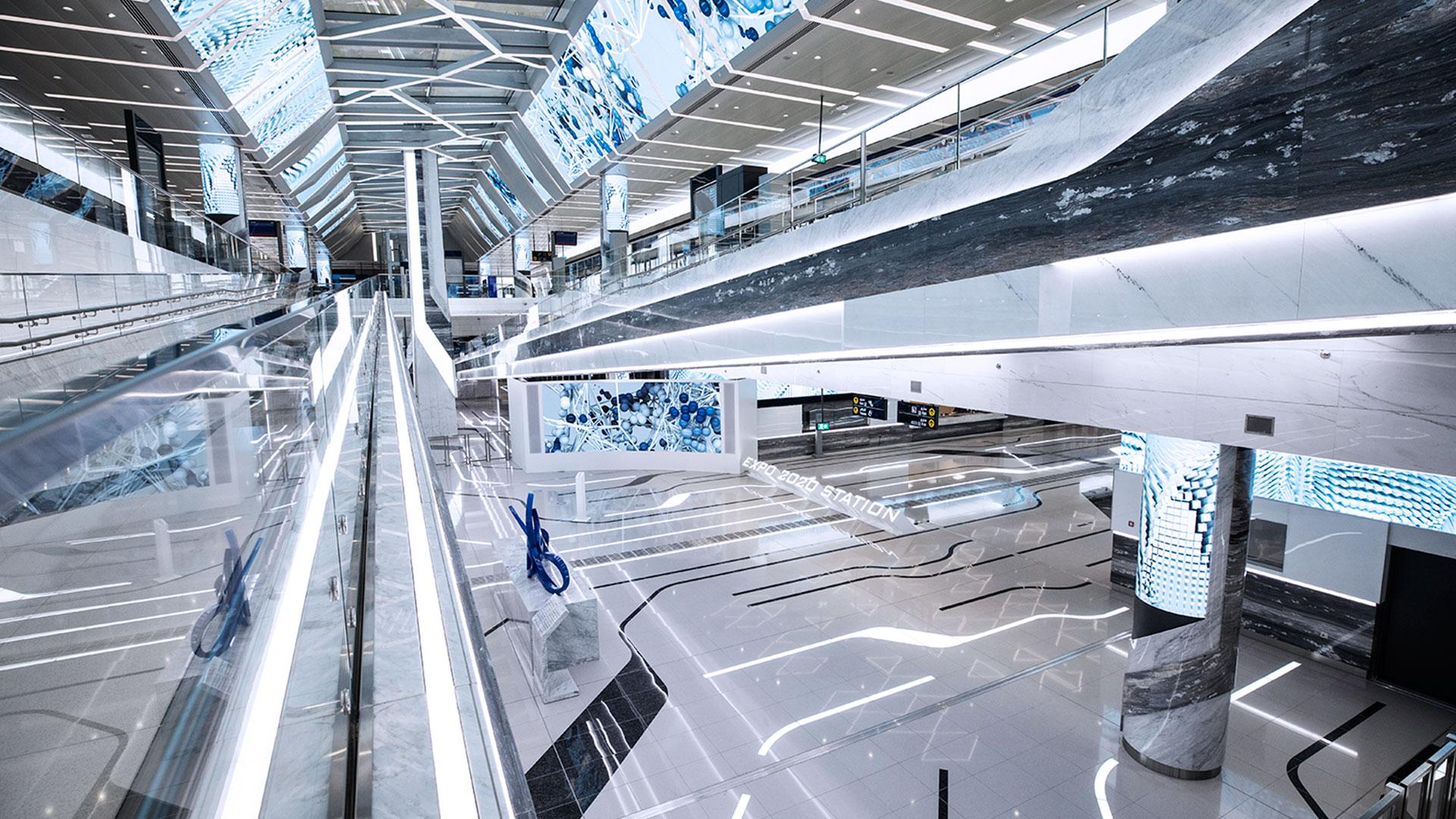 EXPO 2020 Metro Station Dubai