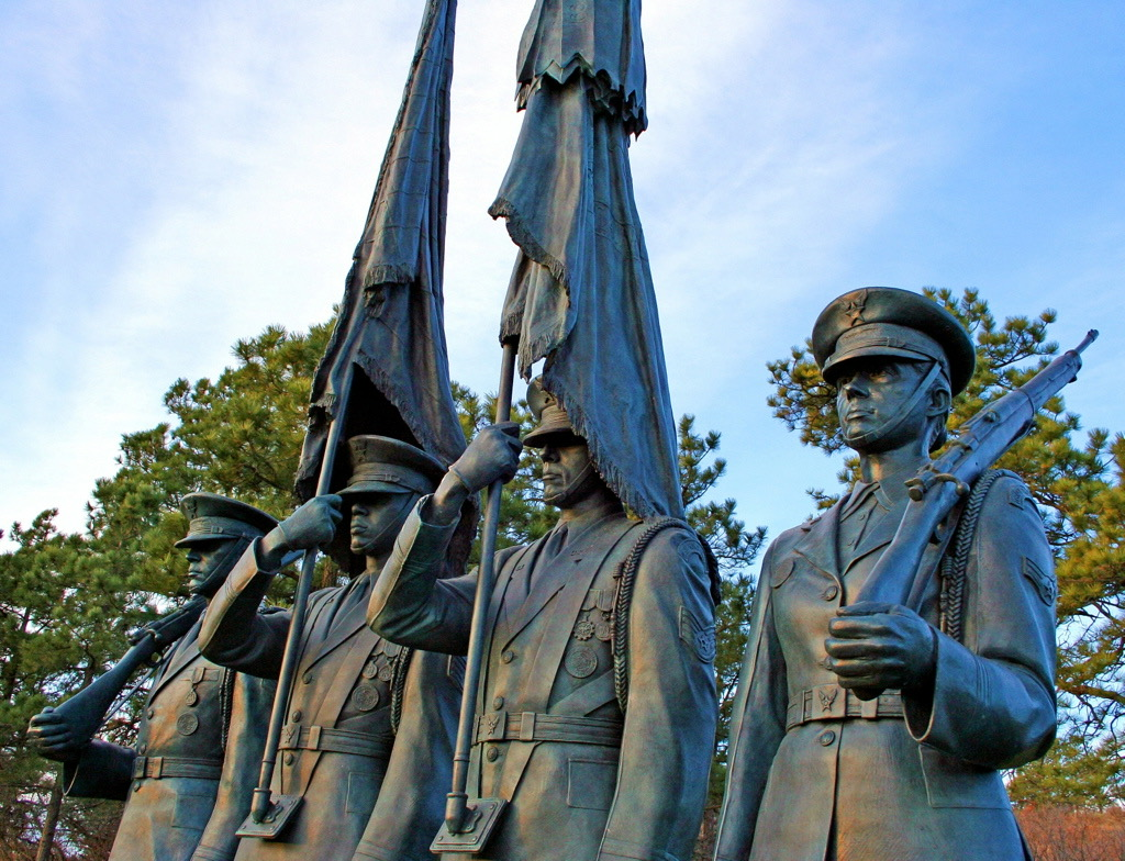 The U.S. Air Force Honor Guard Memorial