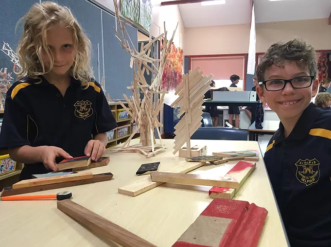 Neural Pathway, Kangaroo Valley Public School